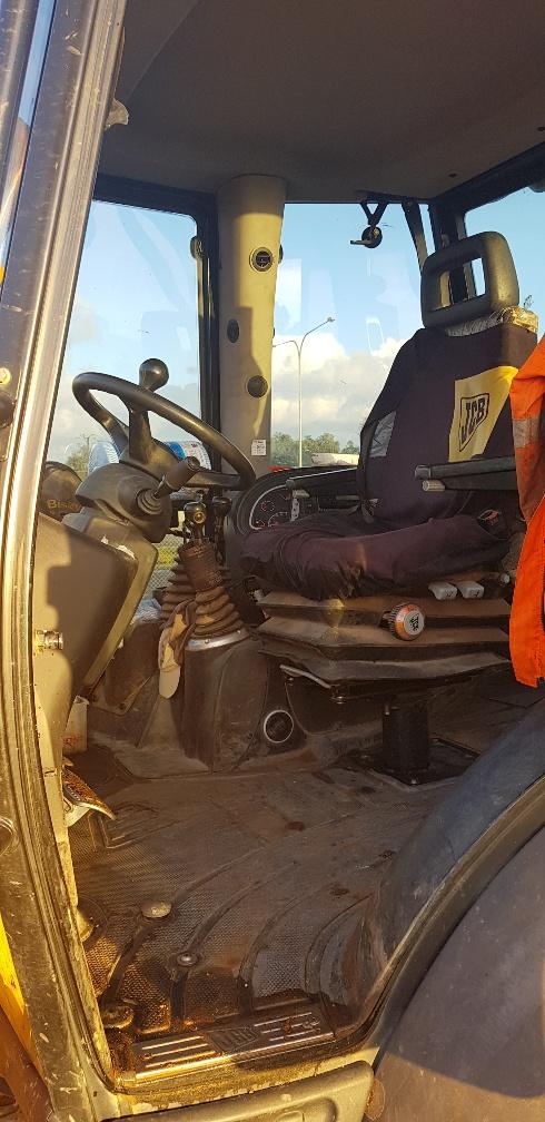 Cab ROAD RUNNER JCB 3CX BACKHOE