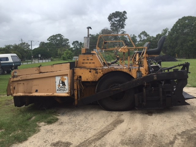 Used Pavers For Sale - Second Hand Pavers - Dynapac