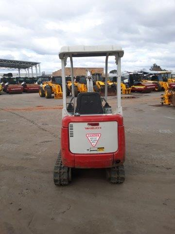 Takeuchi mini excavator for sale